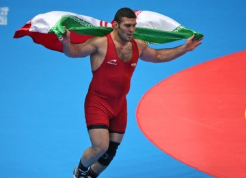 Wrestling Wins 7th Gold for Iran in Incheon