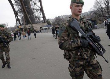 France Deploys 15,000 Troops