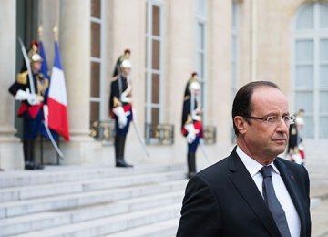 French Voters not Backing Hollande for 2017