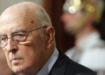 Italian President Resigns