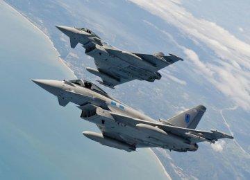 NATO Jets Intercept Russian Fighter Planes