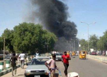 Car Bomb Explodes in Nigeria