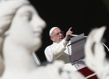 Pope Condemns Modern Slavery in New Year Address