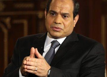 Economy, Security on Sisi's European Agenda