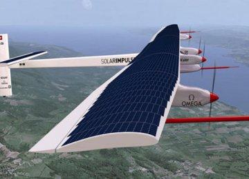 Solar Plane Begins Marathon Pacific Flight