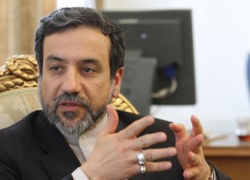 Briefing the Majlis