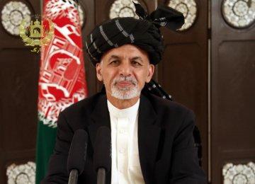 Ghani Thanks Leader