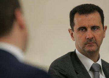 Syria Hails Unwavering Iran Support