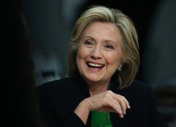 Clinton Hopes Iran Talks Yield Agreement