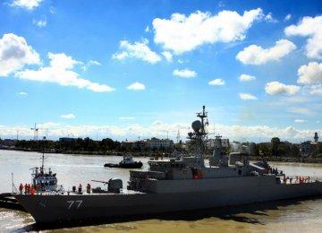 Naval Vessels Dock in Russia