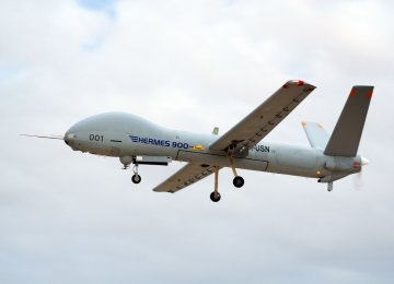 Downed drone sent no data outside Iran