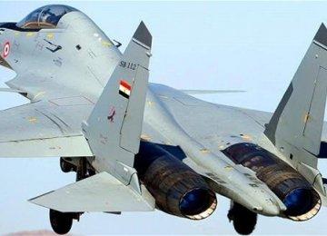 Air Force Jets Destroy Mock Enemy Targets