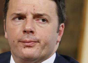 Italy PM Says Britain Leaving EU  Would be Disaster
