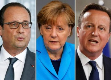 European Leaders Defend Nuclear Pact