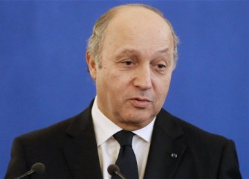 Rouhani to Receive Fabius