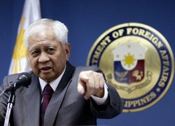 Envoy Meets Top Filipino Diplomat