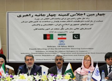 Tehran Meeting on Afghan Refugee Repatriation