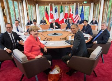 G7 Calls for Tehran's Coop. With IAEA