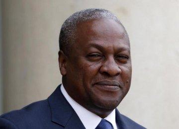 Ghana President to Visit