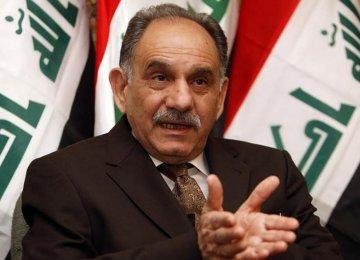Iraq Deputy PM Seeks Support