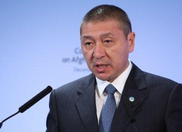 FM Receives Kazakh Message