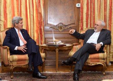 Kerry Seeks Zarif's Trust