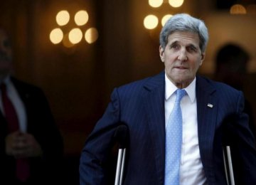 Kerry Sees Iran Accord as Catalyst for Mideast