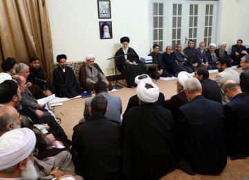 Leader Meets Hajj Officials