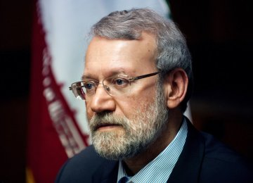 Larijani, Turkish Counterpart Confer