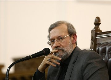 Larijani Reaffirms Support for Nuclear Deal