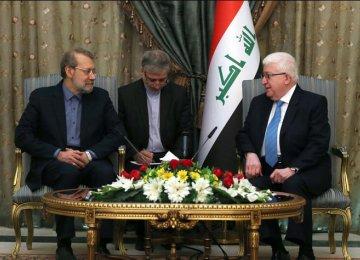 Iran Will Help Iraqis Boost Cohesion