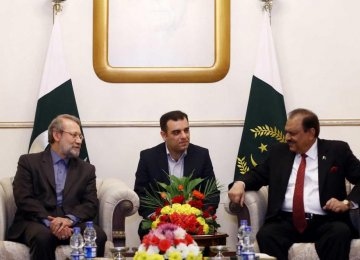 Iran-Pak Efforts Will Help Underpin Peace
