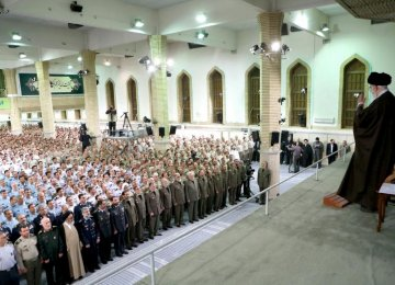 Leader Instructs Military to Boost Capabilities