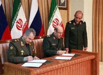 Tehran, Moscow Prioritize Defense Roadmap