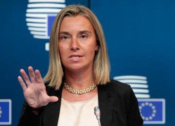 EU: Tehran Should Play Constructive Role on Syria