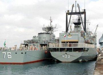 Naval Fleet Sets Sail