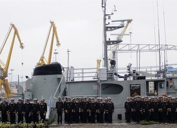 37th Naval Fleet Returns