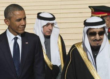 Obama, Saudi King Discuss Iran