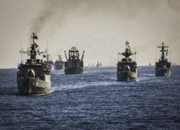 Naval Drill Concludes