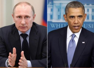 Putin, Obama Discuss Iran