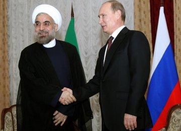 Putin, Rouhani to Meet