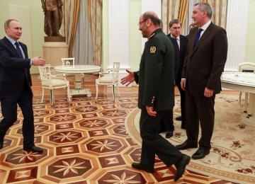 "Putin: Defense Coop. With Iran ""Inevitable"""