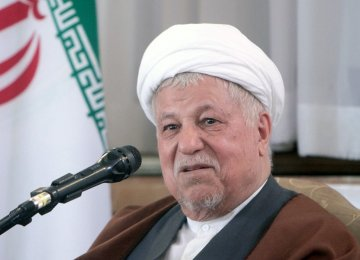 Rafsanjani: Opposition to JCPOA Politically-Motivated