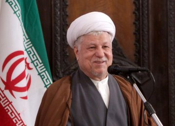 Rafsanjani: Riyadh on Wrong Path