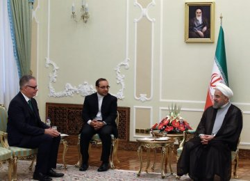 Rouhani Receives New Ambassadors