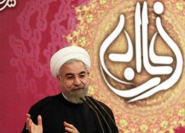 "Rouhani: Nation Proud of ""Valiant Diplomats"""