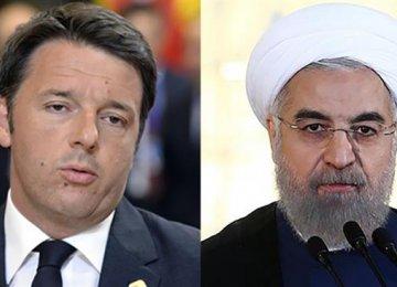Italy PM: Tehran's Role Key to Anti-Terror Fight