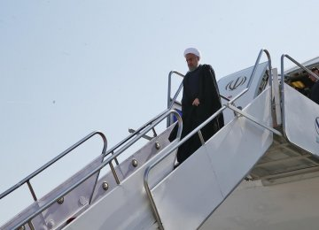 Rouhani Back Home to Honor Hajj Disaster Victims
