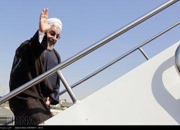 Rouhani in Kazakhstan