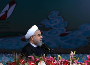 Massive Demos Mark Islamic Revolution Anniv.